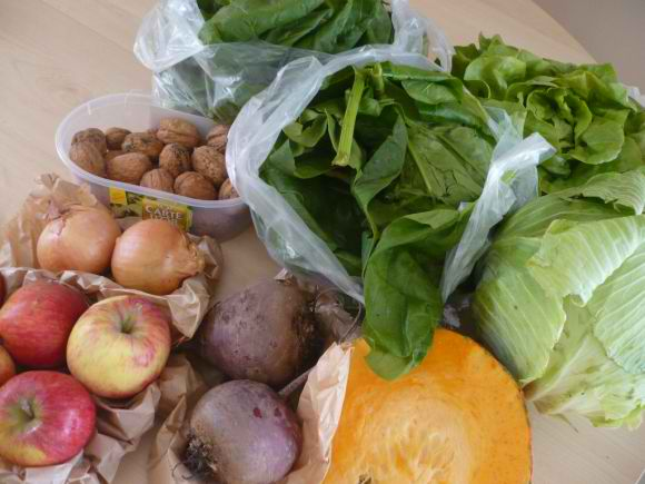 P1030044 Mon panier de légumes