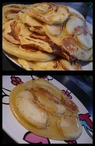 beignetspommescrea1 Beignets aux pommes (presque) comme Maman