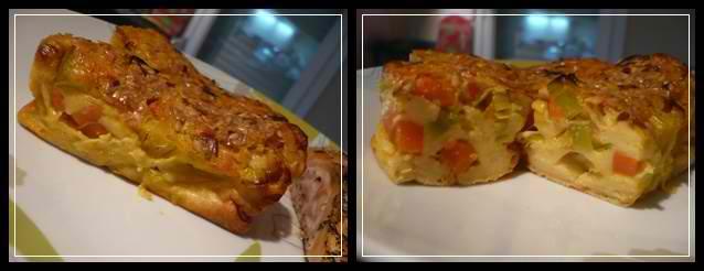 clafoutipoireaucarottecrea Petits clafoutis au poireau et à la carotte