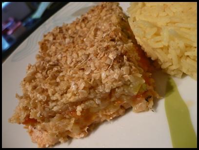 crumblesaumoncrea1 Crumble de saumon