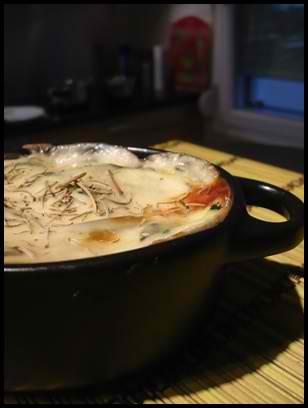 gratincourgettescrea1 Gratin de courgettes aux saveurs du Sud