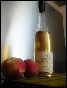 liqueurpechedevignecrea Tiramisu abricot   pêche de vigne