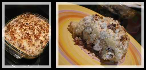 parmentierpanaiscanardnoixcrea1 Parmentier de canard, purée de panais et crumble aux noix