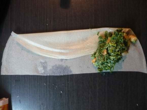 pliagesamossa copie 3 Samossas aux épinards et à la crevette
