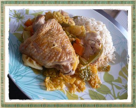 pouletalasenegalaisecrea Poulet à la sénégalaise