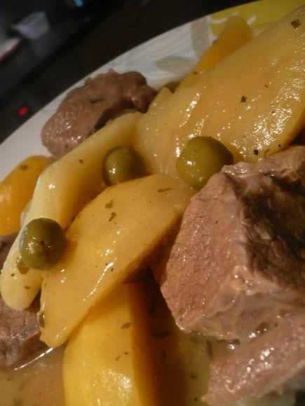 tajineveaunavetolive3 copie 1 Tajine de veau aux navets et olives