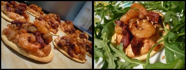 tartelettescrevettebombaycrea1 Tartelettes de crevettes et Bombay