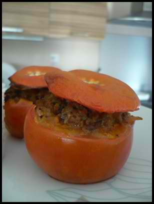 tomatesfarciescrea Tomates farcies