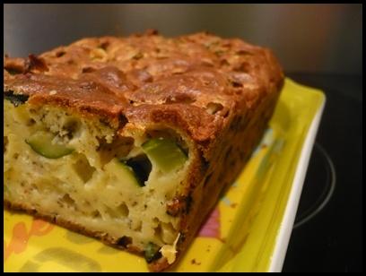 cakecourgettericottacrea1 Cake à la courgette et à la ricotta
