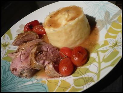 filetmignonprovencalecrea Filet mignon de porc à la provençale