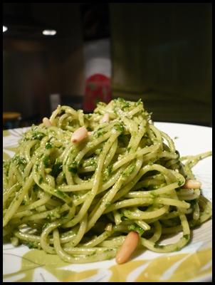 patespestoepinardscrea3 Pesto aux épinards