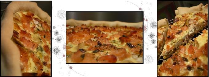 tartepoireauxsaumonfumecreatrio Tarte aux poireaux et saumon fumé...