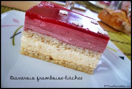 P1110715 ❤ St Valentin ❤ : Bavarois framboise   litchee