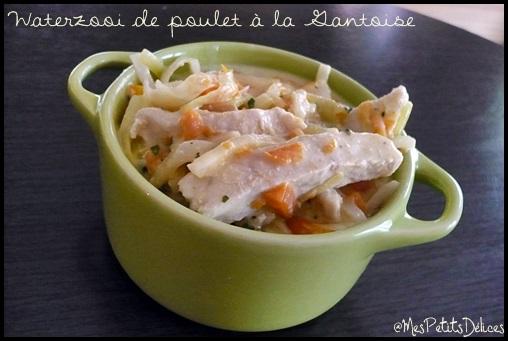 Waterzooidepouletalagantoisecrea Waterzooi de poulet à la Gantoise