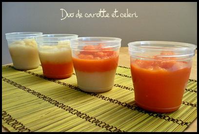 bbpureecarottecelericrea Petites purées pour bébé pour débuter la diversification (dès 4   6 mois)