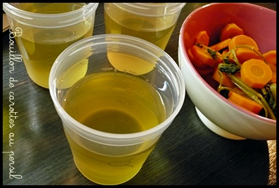 bouilloncarottespersilcrea3 Bouillon de carottes au persil (dès 4 mois)