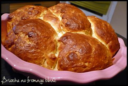 briocheaufromageblanccrea1 Brioche au fromage blanc