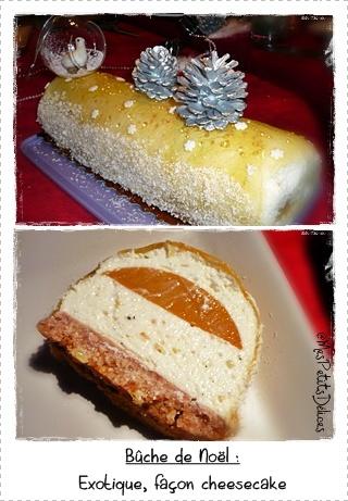 buchedenoelcreacombi Galette des rois à la crème damande, poire et chocolat