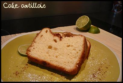 cakeantillaiscrea1 Cake antillais