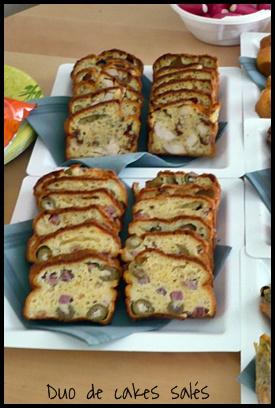 Cake Sal Ef Bf Bd Sur Plaquie Cuisson