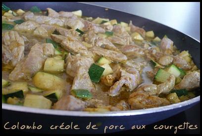 colombocreoledeporcauxcourgettescrea1 Colombo créole de porc aux courgettes