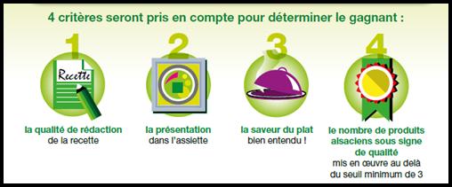 concoursalsacequalite3 Gagnez un repas chez un Etoilé dAlsace avec Alsace Qualité !