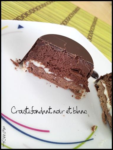 croustifondantchococrea1 Croustifondant noir et blanc ❀ Pâques ❀