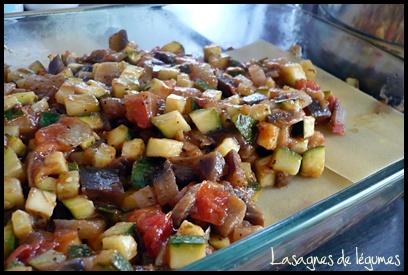 lasagnesdelegumescrea1 Lasagnes de légumes