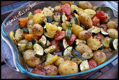 legumesrotisaufourcrea Légumes rôtis au four