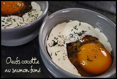 oeufcocottesaumoncrea1 Oeufs cocotte au saumon fumé ...