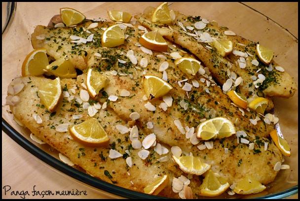 pangafaconmeunierecrea2 Filets de panga façon meunière