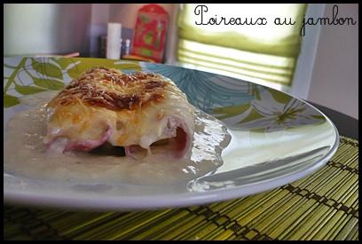 poireauxjambonsaucebechamelcrea1 Poireaux au jambon, sauce béchamel