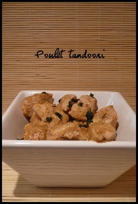 poulettandooricrea2 Poulet tandoori