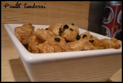 poulettandooricrea3 Poulet tandoori