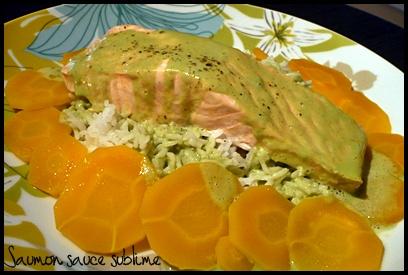 saumonsaucesublimecrea Saumon sauce sublime