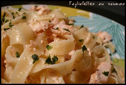 tagliatellessaumoncrea2 Tagliatelles au saumon à la sauce citron