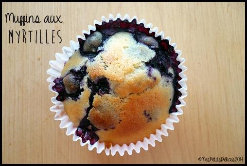 muffins myrtilles C4 Muffins aux myrtilles