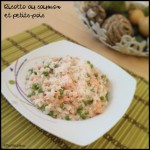 risotto saumon petits pois C1