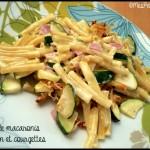 gratin macaronis jambon courgette C2