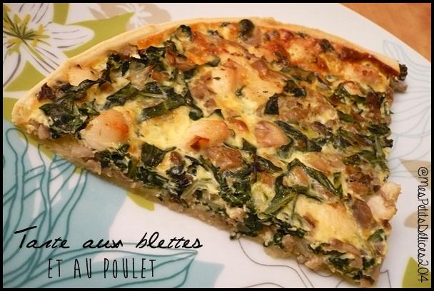 014 tarte blettes poulet C4 Tarte aux blettes et au poulet