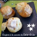 gougères mousse foie gras C