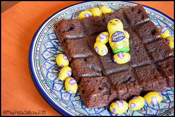gâteau extra fondant chocolat C2 {Pâques} Gâteau au chocolat extra fondant de Belle Maman