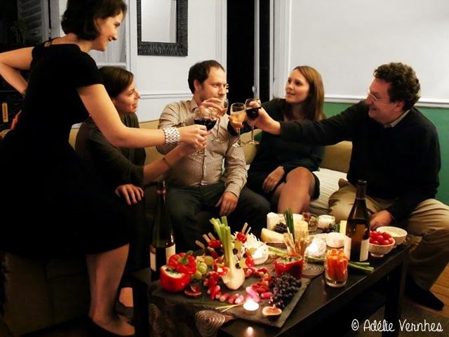 Magalis winecheese Crédits Adélie Vernhes Savourez un repas chez lhabitant partout dans le monde avec VizEat !