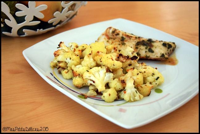 chou fleur rôti aux épices 2 C Chou fleur rôti aux épices