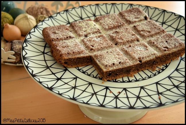 gâteau rapide aux noix et café 1 C Gâteau rapide aux noix et au café