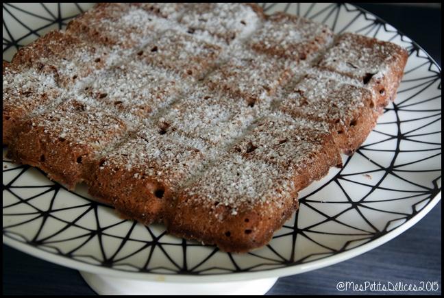 gâteau rapide aux noix et café 2 C Gâteau rapide aux noix et au café