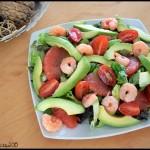 salade avocat pamplemousse crevettes 1 C 150x150 ☼ Repas fraîcheur ☼ : Simple comme une tomate mozza