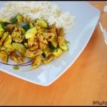 sauté de porc grillé aux courgettes (2) C