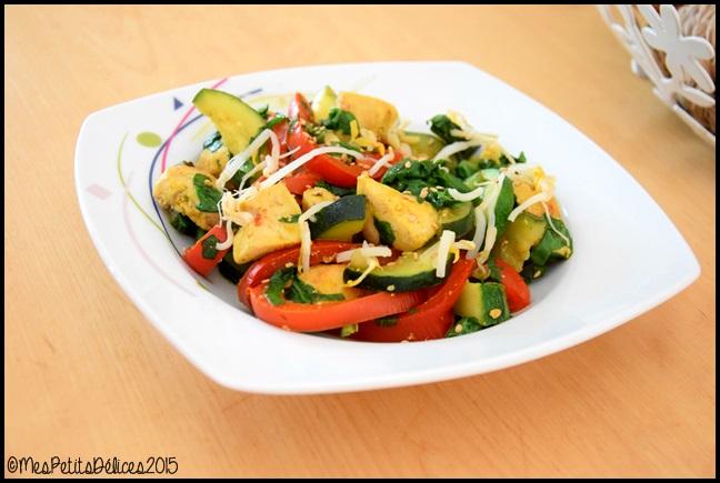 curry de poulet aux légumes 1C Curry de poulet aux légumes
