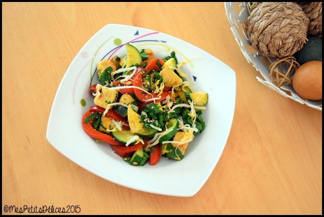 curry de poulet aux légumes 2C Curry de poulet aux légumes